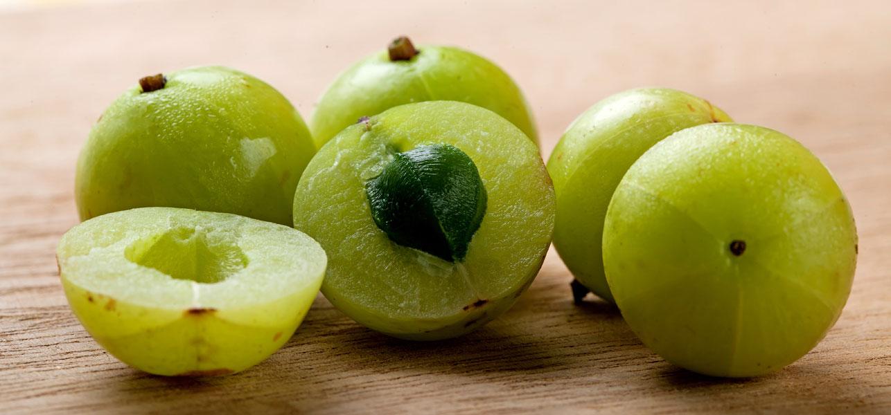 Amla fruit opened photos
