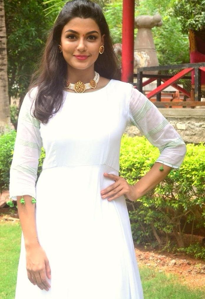 Anisha ambrose movie promotions stills