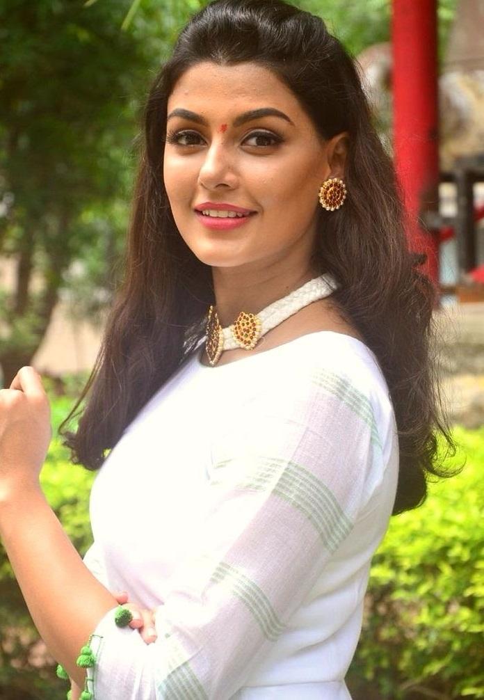 Anisha ambrose press meet stills