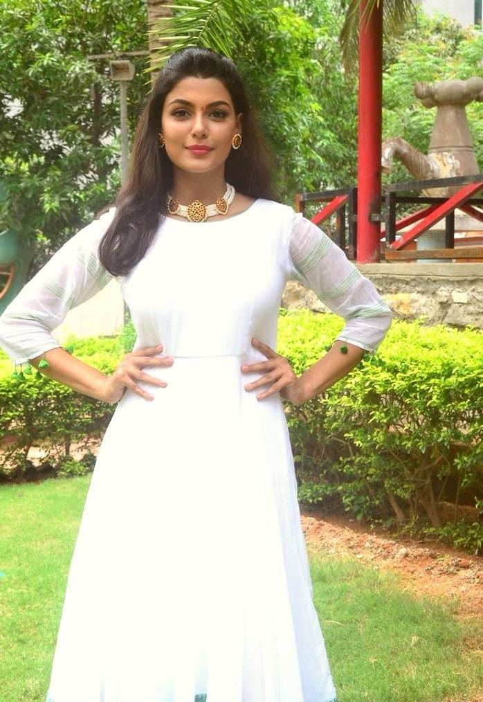 Anisha ambrose white dress computer photos