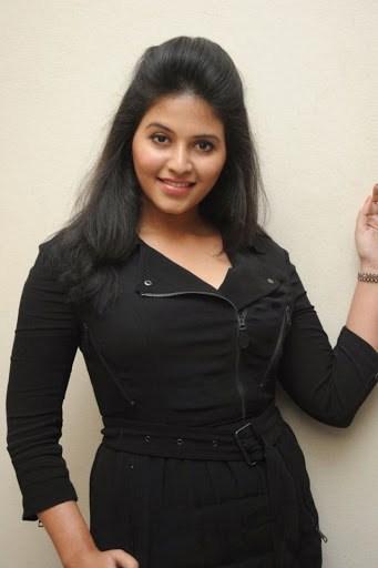 Anjali black dress photos