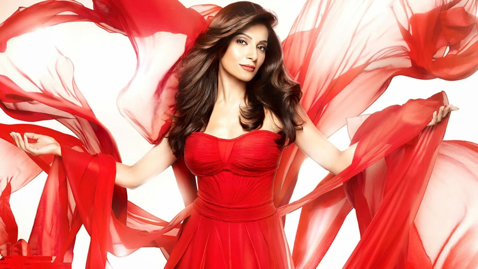 Bipasha basu red dress pictures