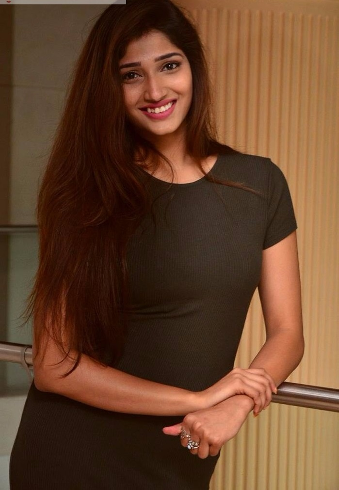Heroine priya vadlamani black dress image