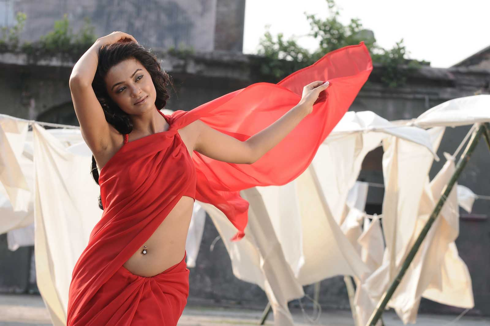 Indian actress surveen chawla saree pictures