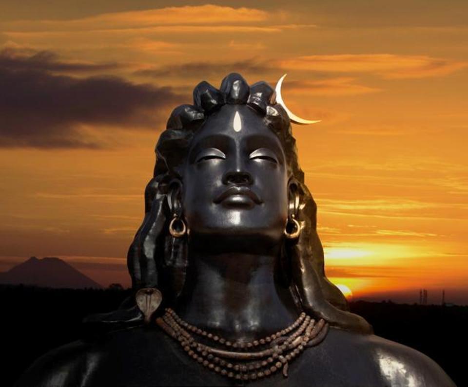 Isha yoga shivan image