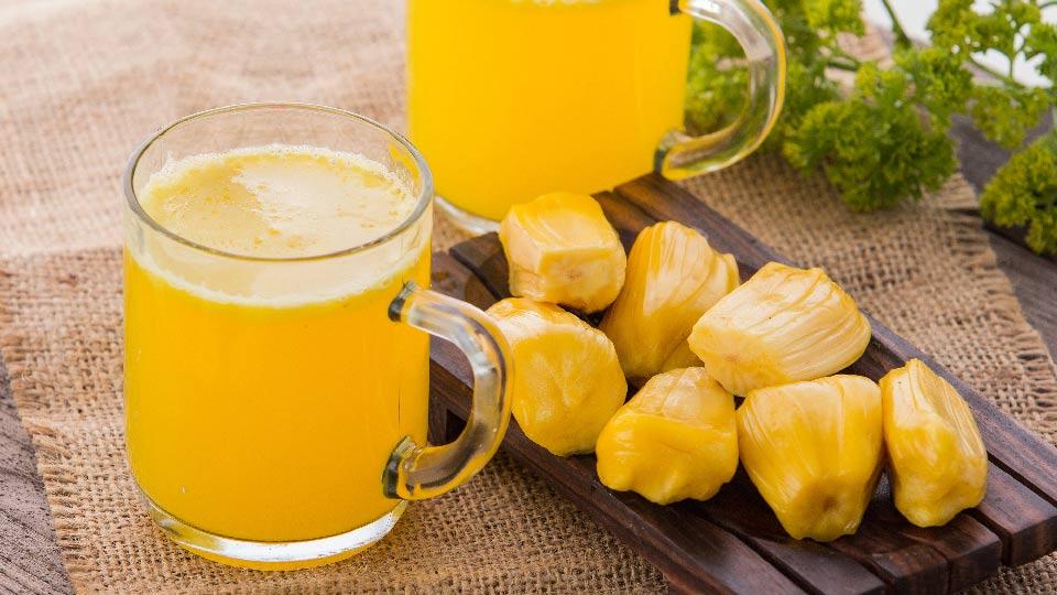 Jackfruit shake with class photos