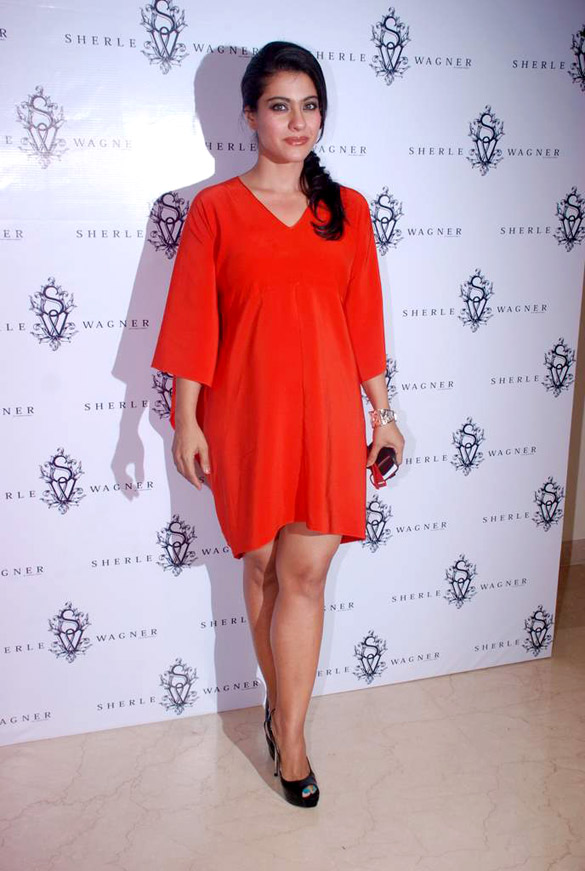 Kajol red dress pictures