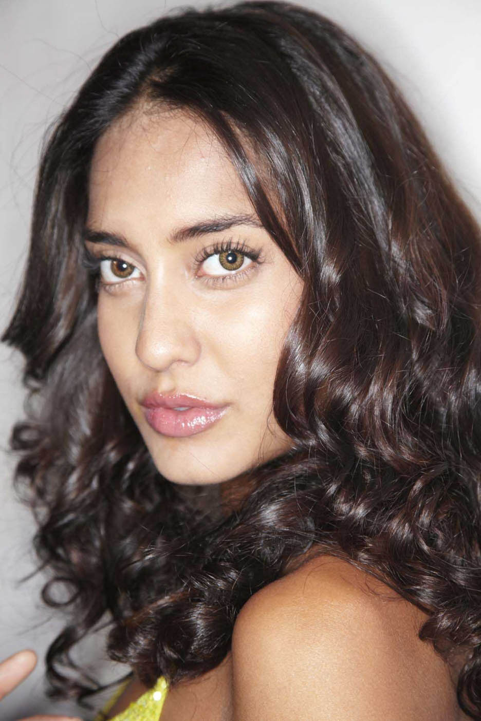 Lisa haydon hair style photos