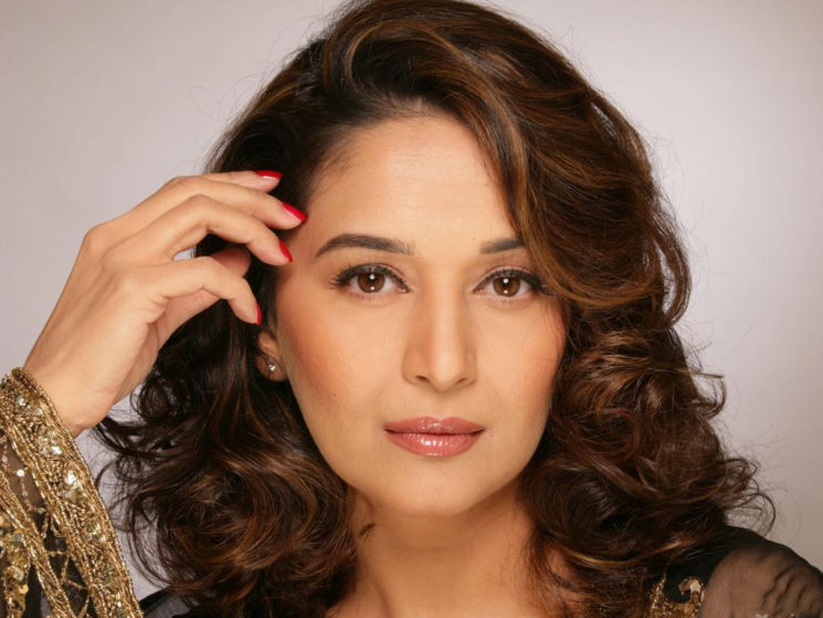 Madhuri dixit face hair style images