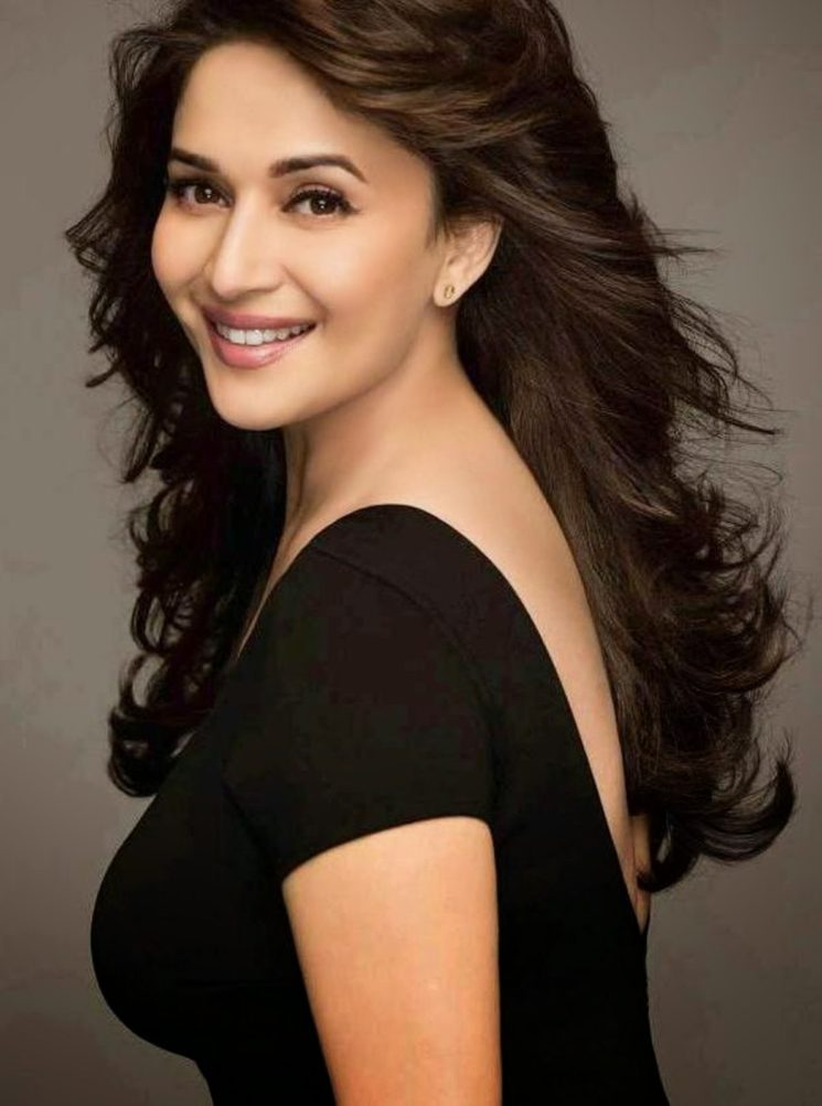 Madhuri dixit side look photos