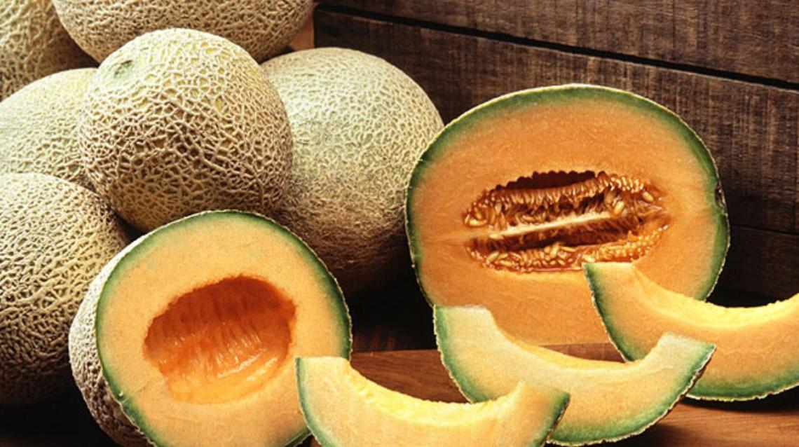 Muskmelon opened fruits photos