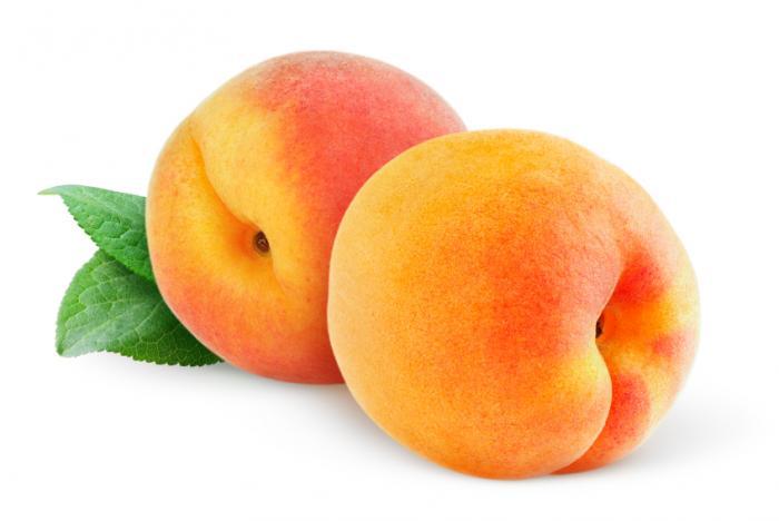 Peach fruit images