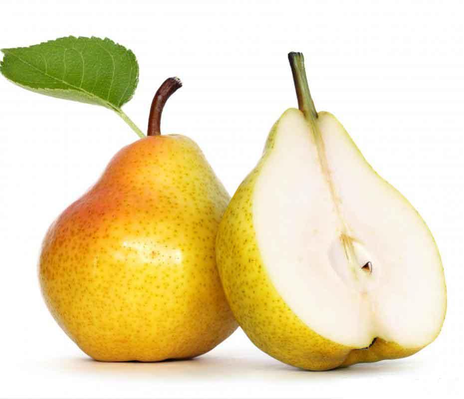 Pear half fruit photos