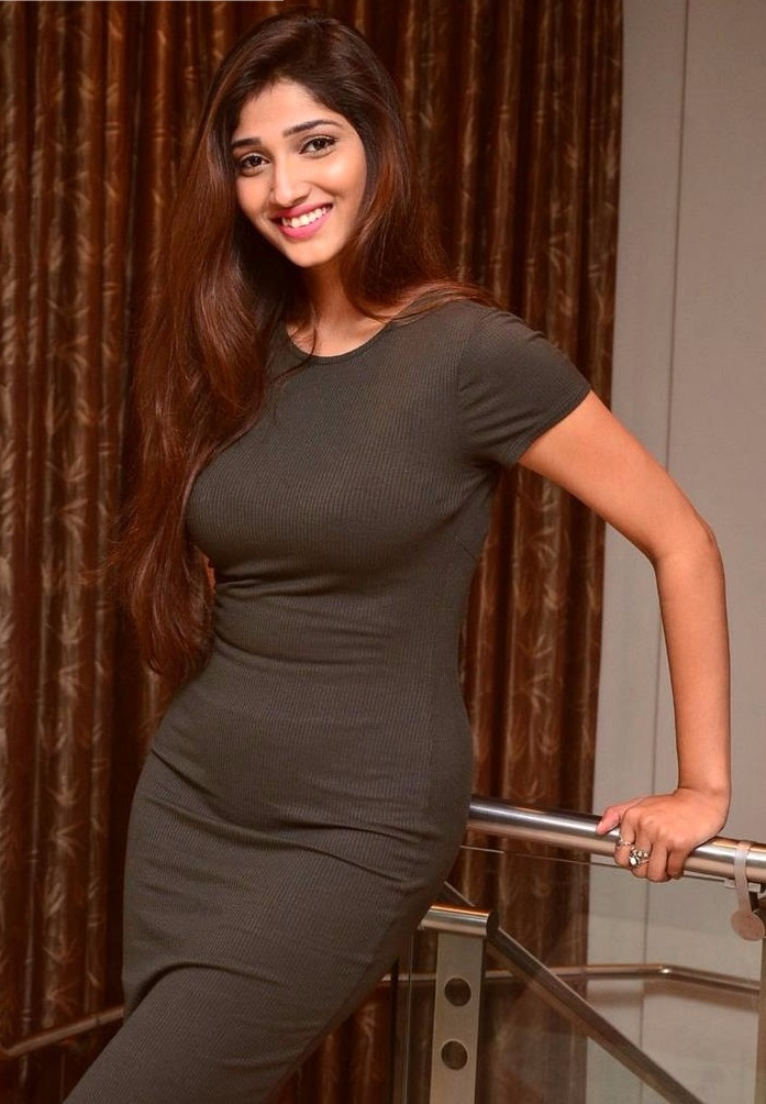 Priya vadlamani black dress modeling pictures