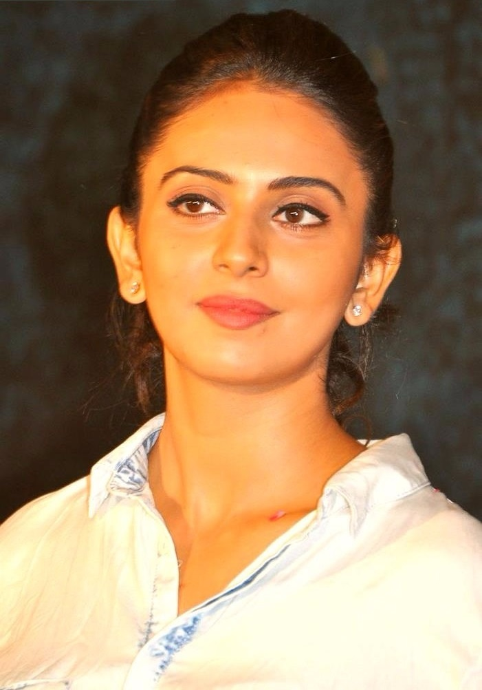Rakul preet singh white dress photos