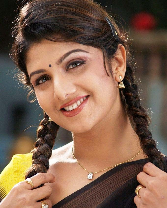 Rambha cute hair style photos