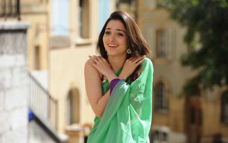 Tamanna green saree hd photos
