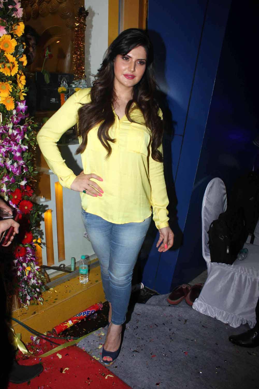 Zareen khan pant shirt photos