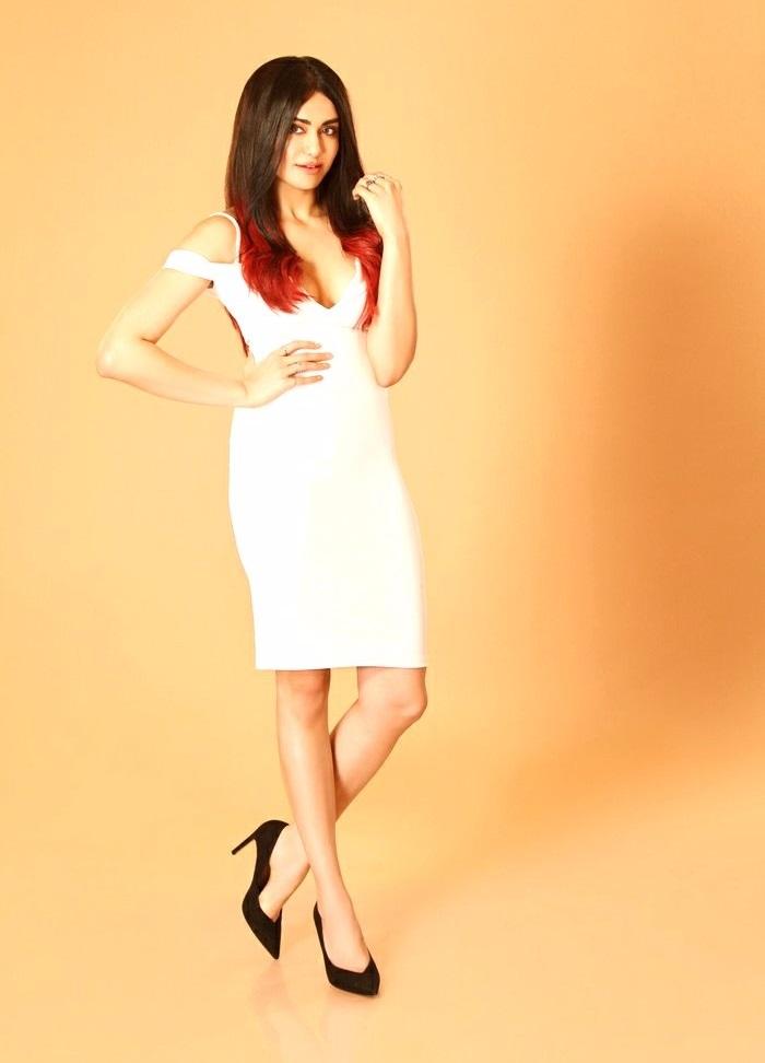 Adah sharma white dress wide images