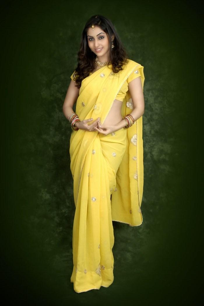 Aishwarya nag saree pictures