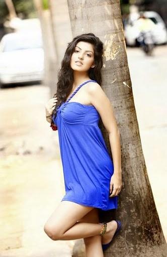 Amrita prakash blue dress pics