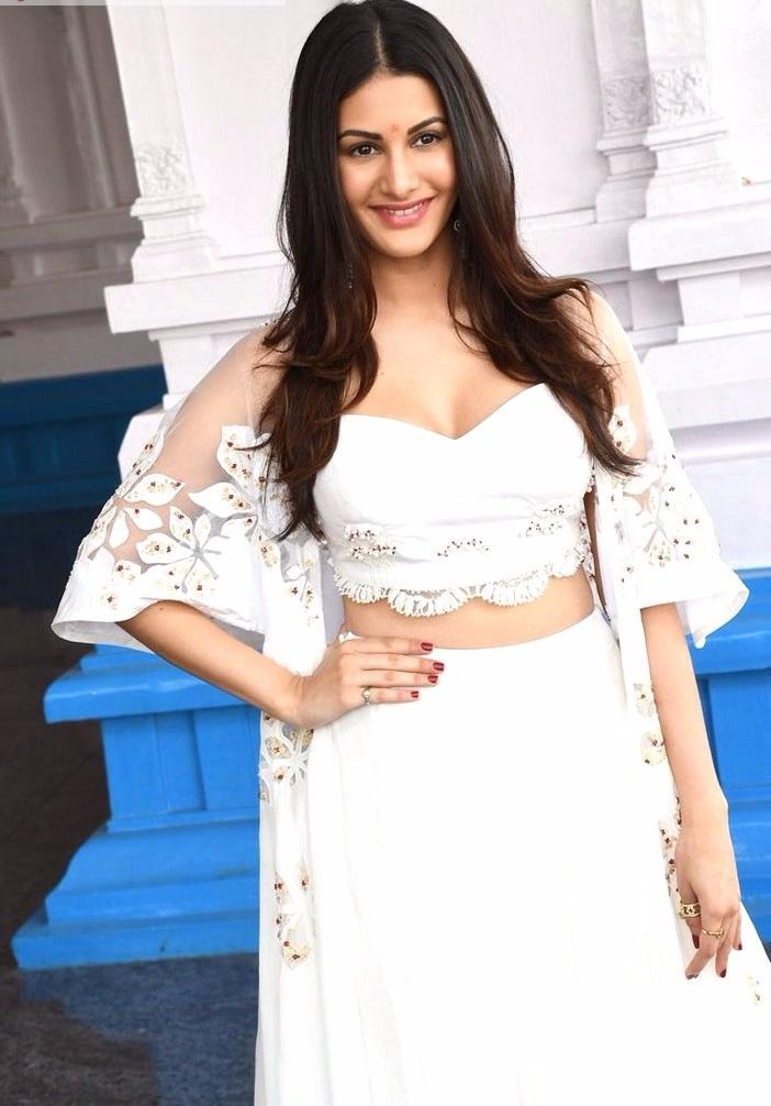 Amyra dastur white dress exclusive photos