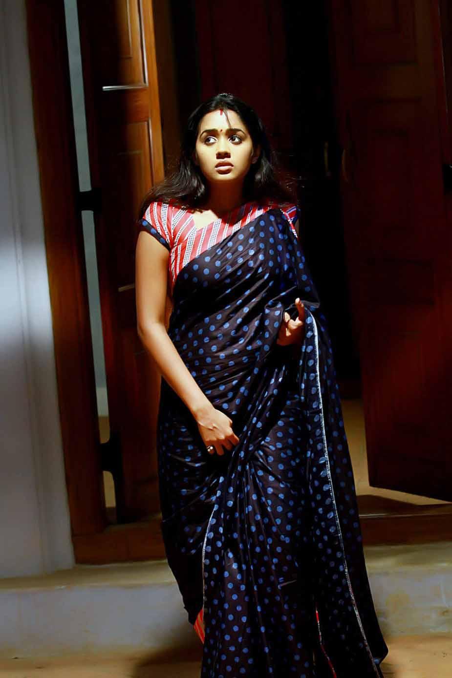 Ananya saree in house photos