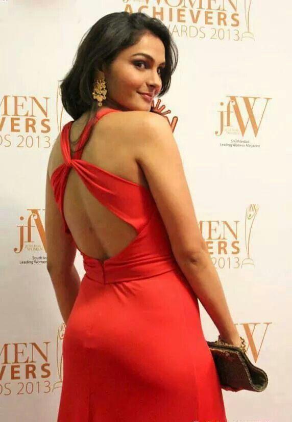 Andrea jeremiah backless photos