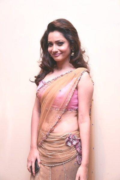 Ankita lokhande half saree pictures