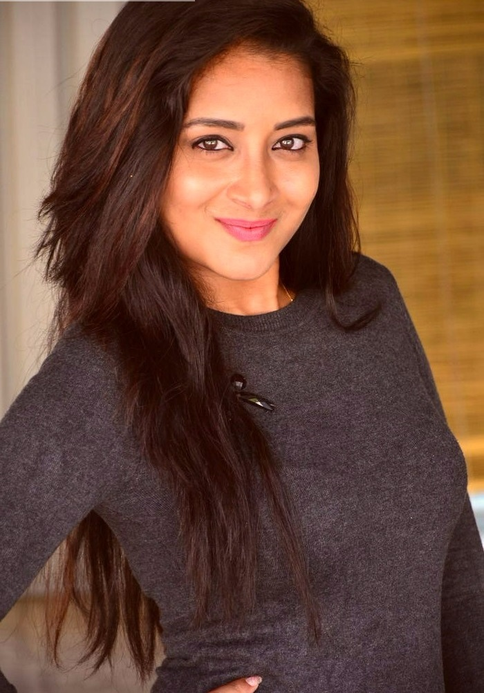 Bhanu tripathi black dress cute pictures