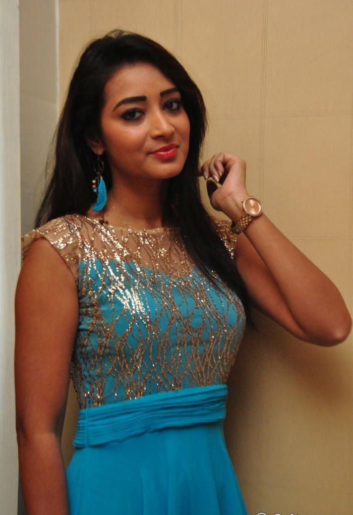 Bhanu tripathi blue dress beautiful photos