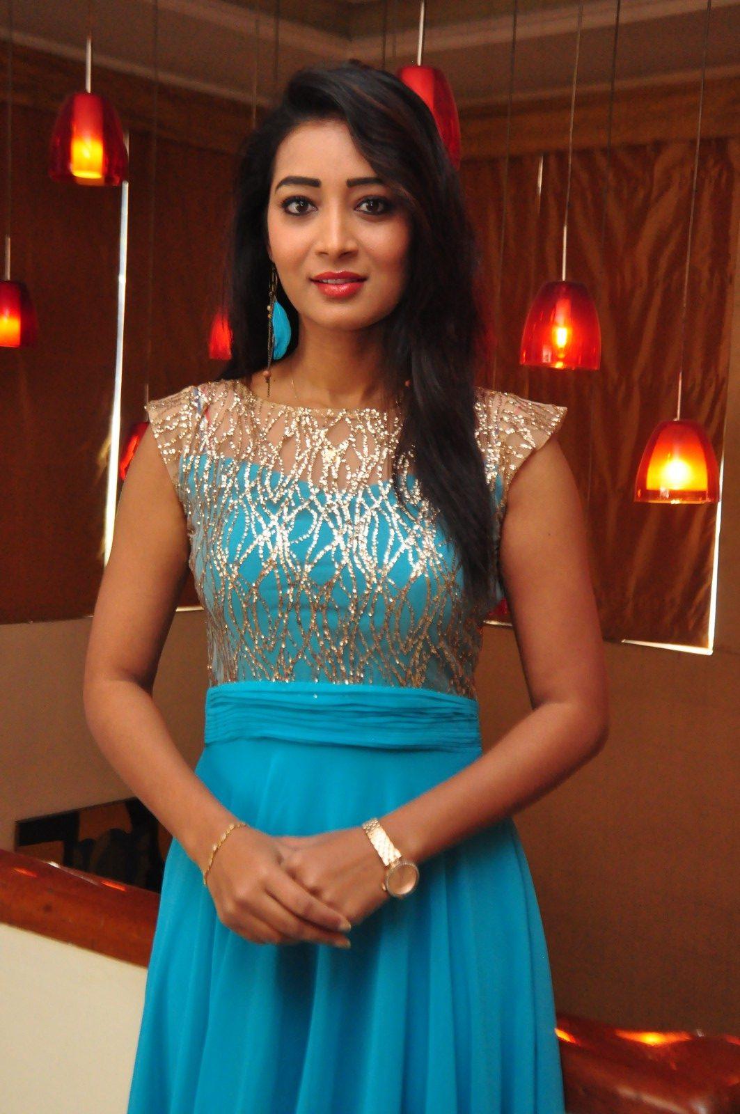 Bhanu tripathi blue dress glamour gallery