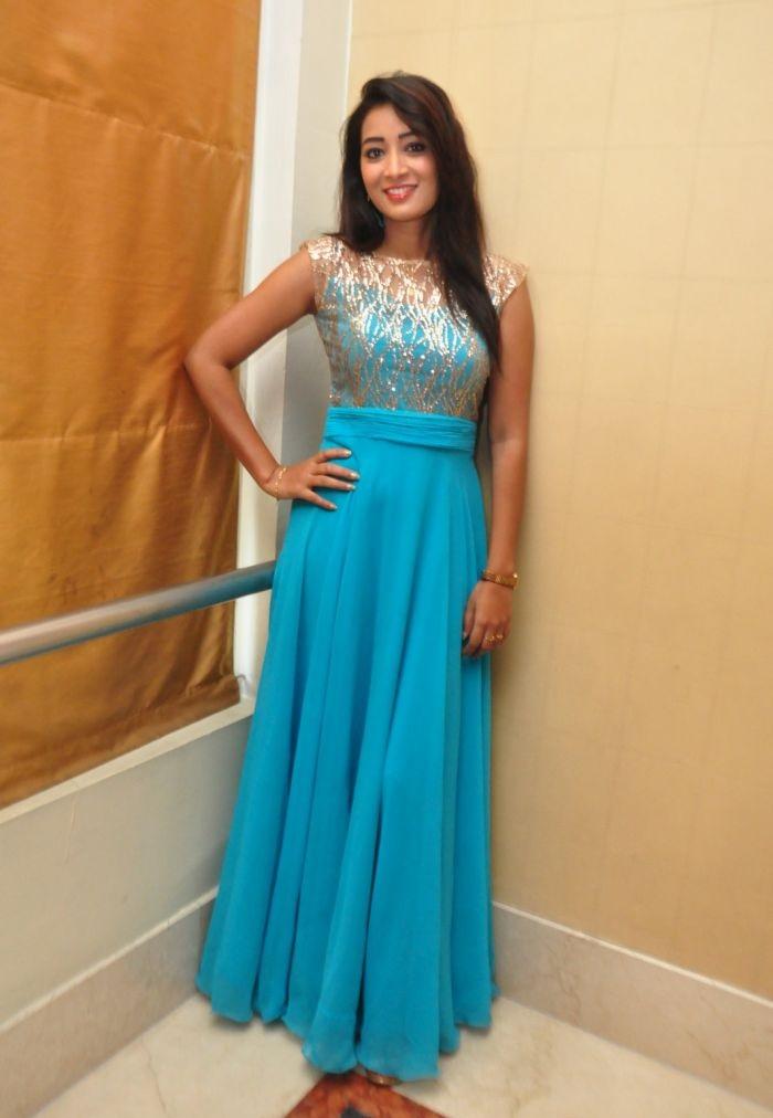 Bhanu tripathi blue dress hd photos