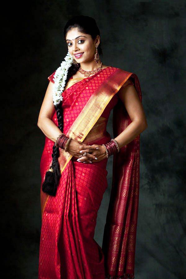 Bhavana rao red saree photos