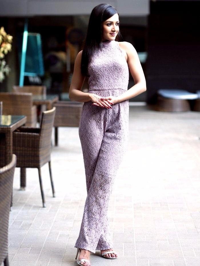 Catherine tresa actress white dress figure stills