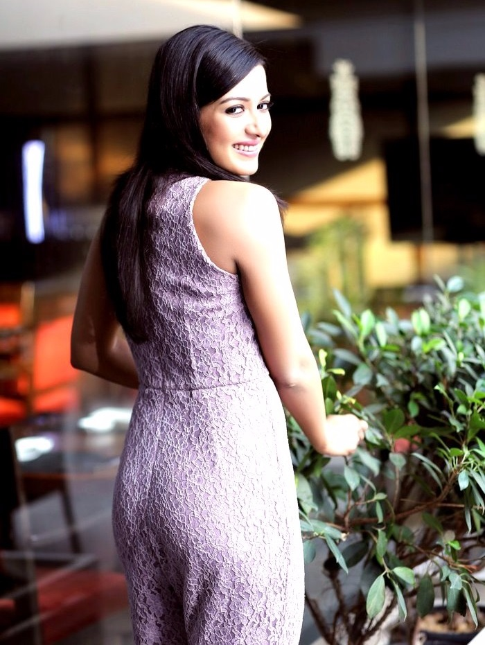 Catherine tresa actress white dress pictures