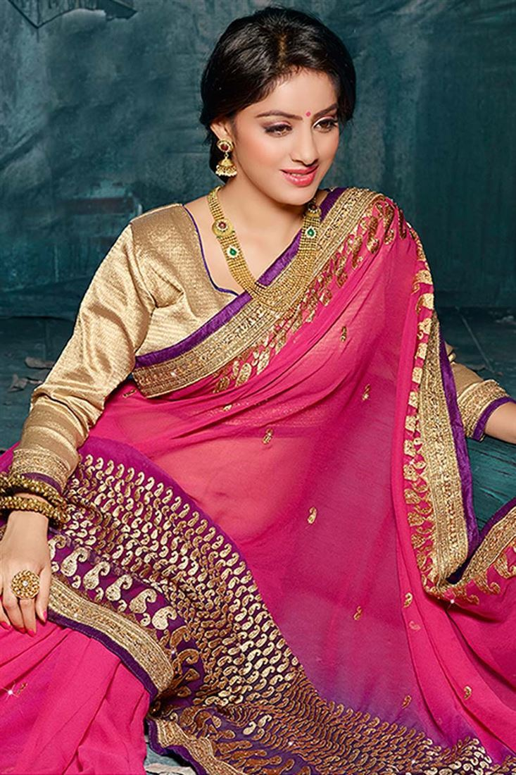 Deepika singh rose saree photos