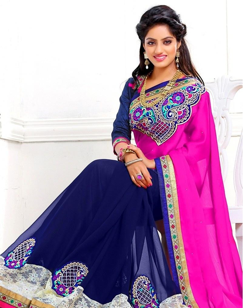 Deepika singh saree modeling photos