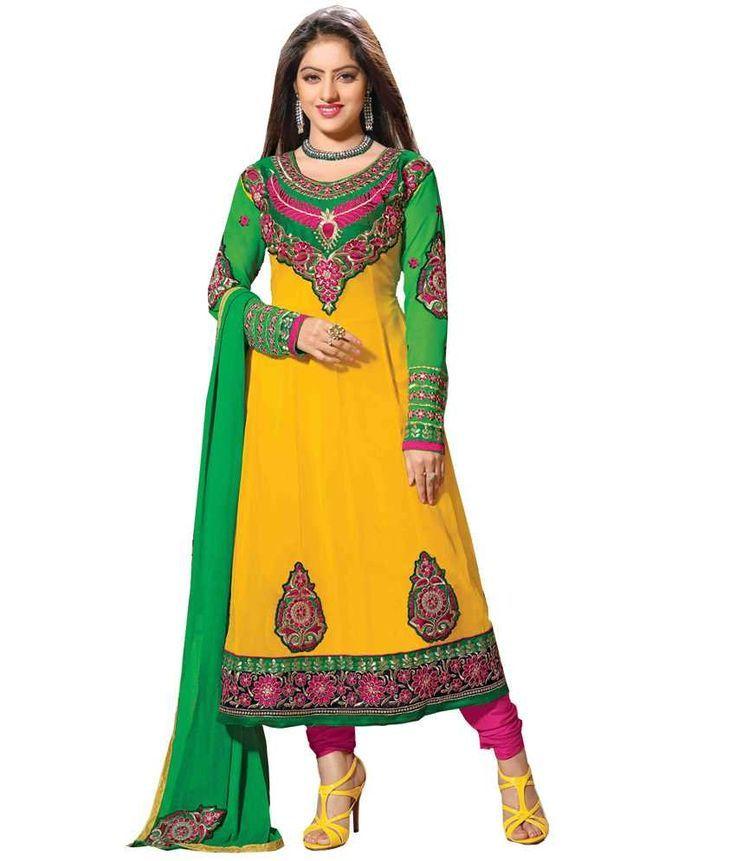 Deepika singh yellow churidar photos