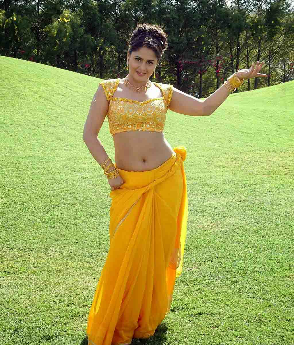 Farzana yellow saree pictures