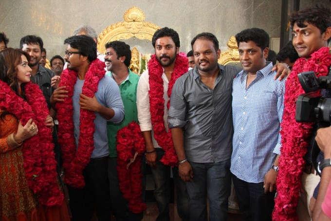 Grahanam movie team pooja photos