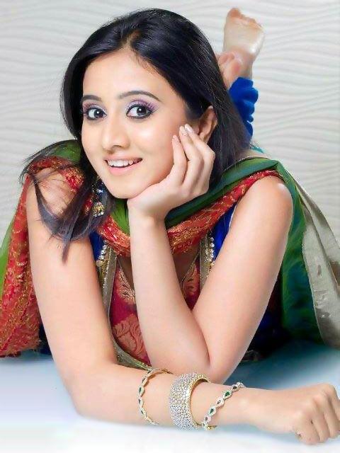 Harshika poonacha churidar photos