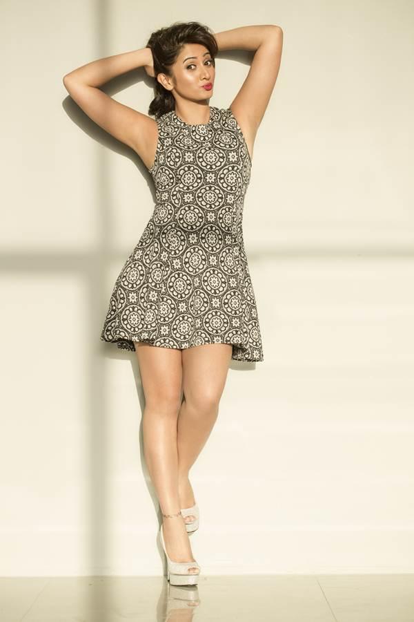 Harshika poonacha mini dress pictures