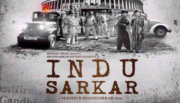 Indu sarkar first look poster