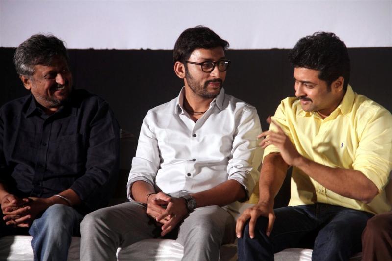 Kootathil oruthan film launch suriya photos