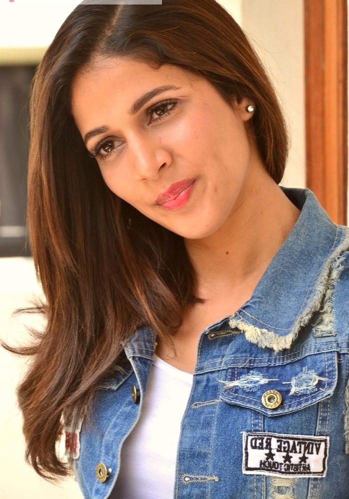 Lavanya tripathi blue and white dress figure photos