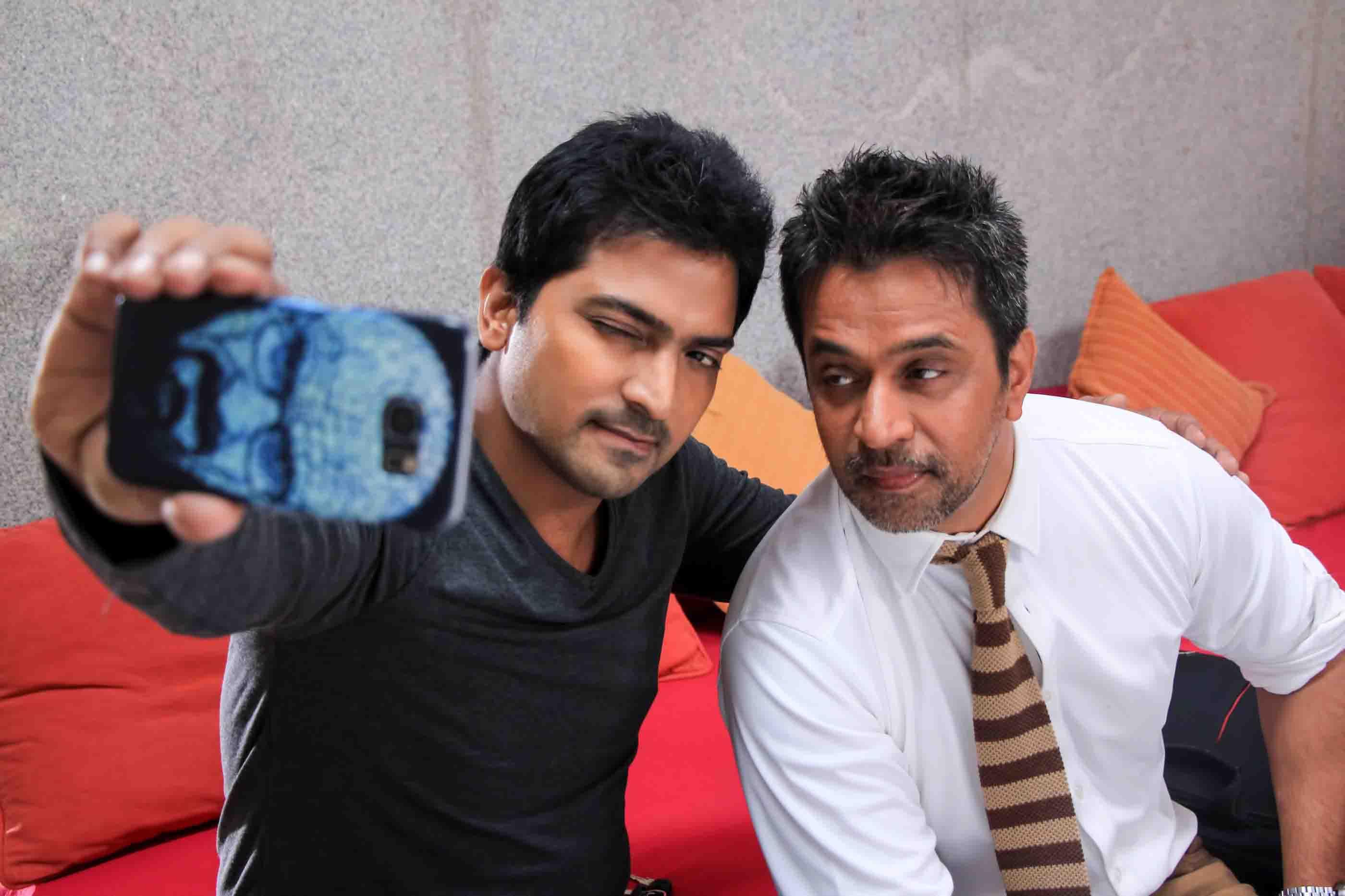 Nibunan arjun sarja vaibhav reddy selfie photos