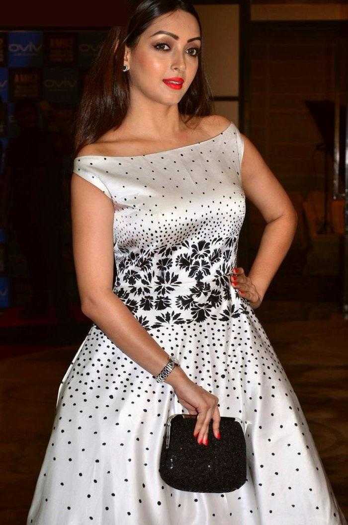 Pooja white dress interview gallery