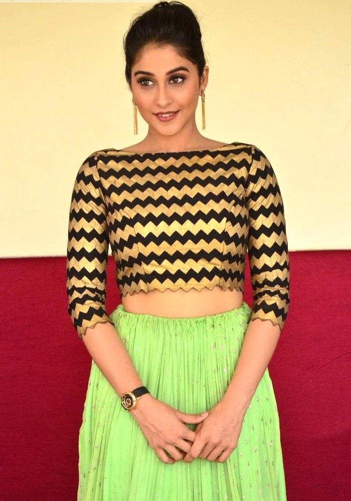Regina cassandra glamour black and green dress pictures