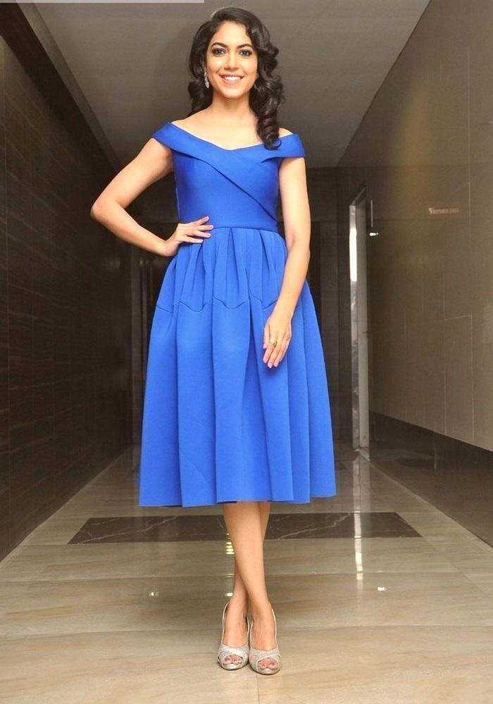Ritu varma blue dress hd pictures